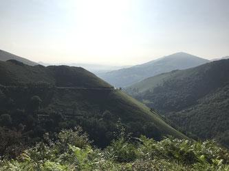 Aufstieg zum Col d'Ispeguy