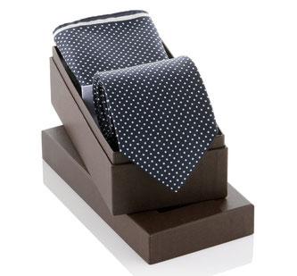 Krawattenbox & Einstecktuch