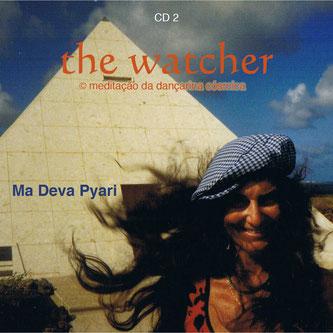 "Pyari in Lanzarote, 1990 - capa do segundo CD do ""The Watcher"""