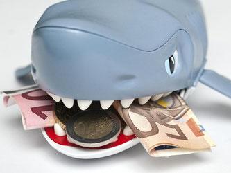 Um nicht bei einem Kredithai zu landen, sollte man sich den Geldgeber gut aussuchen - sonst droht eine saftige Rechnung. Foto: Andrea Warnecke
