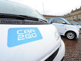 Car2go und Flinkster werden kooperieren. Foto: Bernd Weißbrod/Archiv