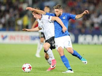 Die deutsche U21-Nationalmannschaft zittert sich ins Halbfinale. Foto: Jan Woitas