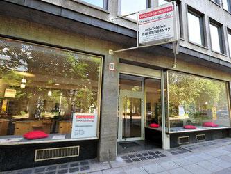 Die Verbraucherzentrale Baden-Württemberg in Stuttgart. Foto: Jan-Philipp Strobel/Archiv