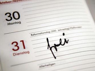 Der 500. Reformationstag ist einmalig ein bundesweiter Feiertag. Foto: Sebastian Gollnow