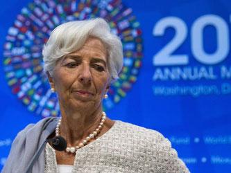 Christine Lagarde hatte als französische Finanzministerin eine umstrittene Entschädigung von gut 400 Millionen Euro befürwortet. Foto: Shawn Thew