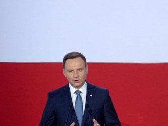 Wahlsieger Duda will der Präsident «aller Polen sein». Foto: Jacek Turczyk
