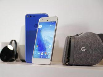 Das Google-Smartphone Pixel phone, Google Home, und Google Daydream wurden in San Francisco vorgestellt. Foto: John G. Mabanglo