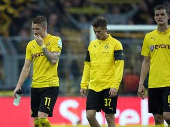 Der BVB kassierte die vierte Niederlage in Serie. Foto: Bernd Thissen