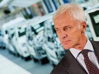 Der neue VW-Chef Matthias Müller hat den Aufsichtsratsvorsitz bei Audi übernommen. Foto: Julian Stratenschulte