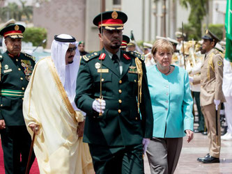 Merkel will sich bei ihrem Besuch nicht nur mit dem König sondern auch mit Vertretern der Zivilgesellschaft treffen. Foto: Kay Nietfeld