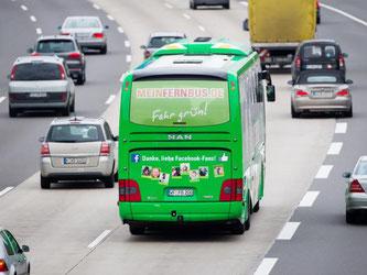 Flexibles Reisen: Bei FlixBus können die Fahrgäste bis 15 Minuten vor der Abfahrt kostenlos umbuchen. Foto: Rolf Vennenbernd