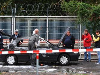 Bei der Toten soll es sich um eine Ex-Freundin von Florian H. handeln, der 2013 in einem Wagen in Stuttgart verbrannt war. Foto: Andreas Rosar/Archiv