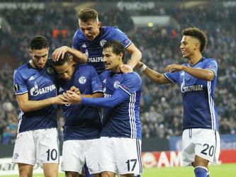 Die Schalker besiegten OGC Nizza mit 2:0. Foto: Ina Fassbender