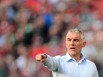 Mirko Slomka wird neuer Trainer des Karlsruher SC. Foto: Peter Steffen