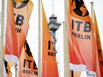 Die Reisemesse ITB hat in diesem Jahr mehr als 10 000 Aussteller aus 184 Urlaubsregionen. Foto: Rainer Jensen