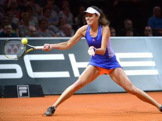 Ana Ivanovic schied in Runde eins aus. Foto: Marijan Murat