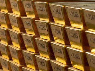 Gold gilt in turbulenten Zeiten als sicherer Hafen. Zudem werfen klassische Sparanlagen wegen der Niedrigzinspolitik der Europäischen Zentralbank (EZB) kaum noch etwas ab. Foto: Bundesbank/