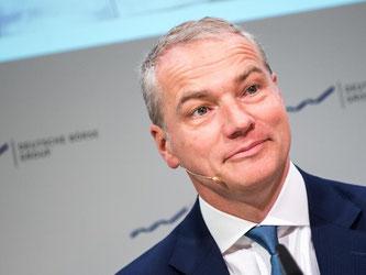 Deutsche-Börse-Chef Carsten Kengeter. Foto: Alexander Heinl