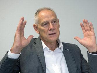 Der Chef der Pforzheimer IG-Metall, Martin Kunzmann. Foto: Lino Mirgeler/Archiv