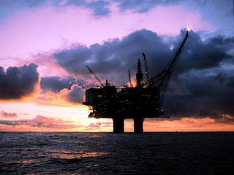 Eine Ölplattform in der Nordsee. Foto: epa/Statoil Hydro