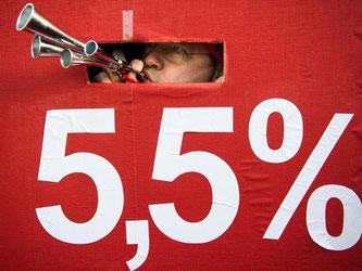 Für die gefühlte Streikflut gibt es gute Gründe. Foto: Ole Spata