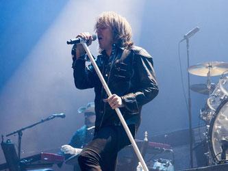 Die deutsche Hardrock-Band «Scorpions» geht auf Welttournee. Foto: Nicolas Carvalho Ochoa/Archiv