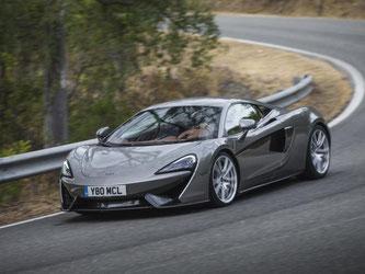 Schon im Sportmodus zeigt der 570S viel Temperament. Im Track-Setup offenbart er jedoch seine Formel-1-Qualitäten. Foto: McLaren
