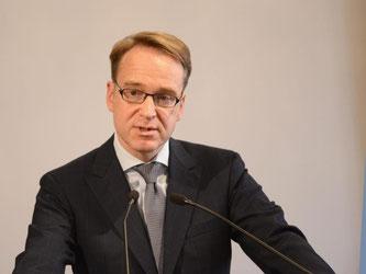 Jens Weidmann: «Die Voraussetzungen für eine europäische Einlagensicherung sind nicht erfüllt». Foto: Winfried Rothermel