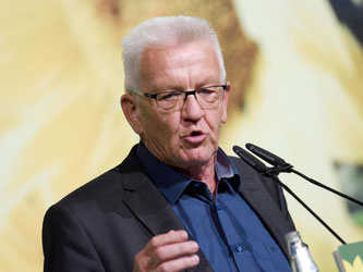Ministerpräsident Winfried Kretschmann. Foto: Rainer Jensen/Archiv