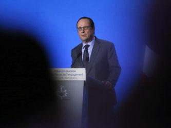 Der französische Staatspräsident François Hollande. Foto:Patrick Kovarik/Pool/Archiv