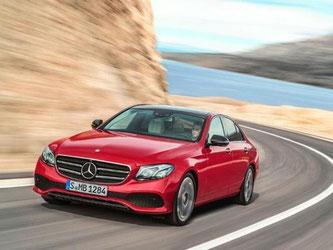 Im April erscheint die neueste Generation der Mercedes E-Klasse. Foto: Mercedes