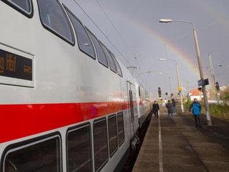 Zwischen Dresden und Köln werden überwiegend doppelstöckige IC-Züge rollen. Foto: Jens Wolf