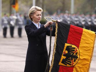 Der Vorwurf der Führungsschwäche könnte für die Verteidigungsministerin zum Bumerang werden. Foto: Ina Fassbender