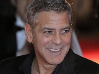 George Clooney steht zu seinen grauen Haaren. Foto: Kiyoshi Ota