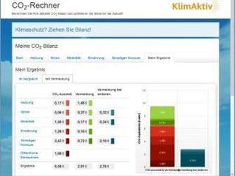 Wer wissen will, wie viel CO2 er produziert, kann das auf klimaktiv ausrechnen. Foto: klimaktiv.de