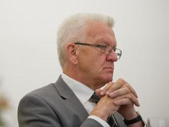 Winfried Kretschmann, baden-württembergischer Ministerpräsident. Foto: I.Kjer/Archiv
