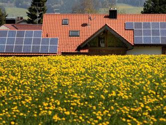 Wenn die Sonne scheint, sollten Solaranlagen ihr volle Leistung abrufen können. Ist das über längere nicht Zeit so, sollte man die Anlagen vom Fachmann überprüfen lassen. Foto: Karl-Josef Hildenbrand