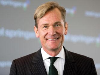 Springer-Vorstandschef Mathias Döpfner in Berlin. Foto: Michael Kappeler/Archiv