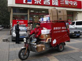 Der Dienstleistungssektor wird in China immer wichtiger. Foto: Rolex Dela Pena