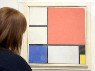 Piet Mondrian, Komposition Nr.II mit Rot, Blau Schwarz und Gelb, 1929. Foto: Bernd Weißbrod