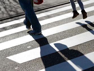 Die Fortbewegung zu Fuß soll gefördert werden. Foto: Patrick Seeger