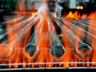 Lampenproduktion in Sachsen:  Die Elektrobranche schreibt Rekordzahlen. Foto: Hendrik Schmidt