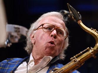 Der Jazzmusiker und Komponist von Filmmusiken, Klaus Doldinger. Foto: Horst Ossinger/Archiv