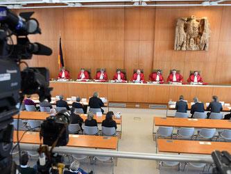 Mit ihrer Klage beim Bundesverfassungsgericht will die Linken-Bundestagsfraktion eine Grundgesetzänderung erzwingen. Foto: Uli Deck