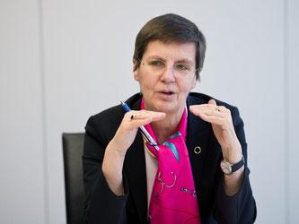 Elke König: «Der europäische Bankenmarkt ist nach wie vor überbesetzt». Foto: Daniel Naupold/Archiv