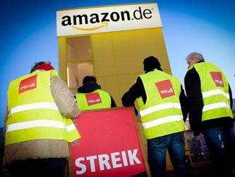 Mitten im größten Weihnachtstrubel macht Verdi massiv Druck auf Amazon. Foto: Peter Endig