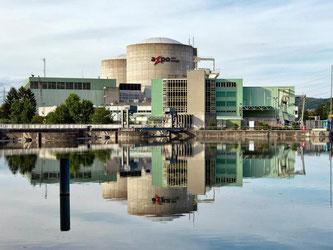 Schweizer Atomkraftwerk. Foto: Alessandro Della Bella/KEYSTONE/Archiv