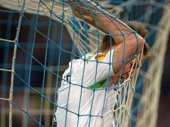 Für Nicklas Bendtner und den VfL Wolfsburg ist das Kaptiel Europa League beendet. Foto: Peter Steffen