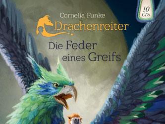 Fans der Geschichte «Drachenreiter» von Cornelia Funke können einen Blick auf die Fortsetzung «Die Feder eines Greifs» werfen. Foto: Atmende Bücher