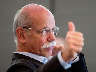 Daimler-Chef Dieter Zetsches Vertrag mit dem Unternehmen wurde vor kurzem bis 2019 verlängert. Foto: Sebastian Kahnert